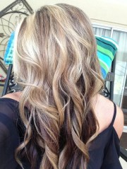 brown and blonde hair love