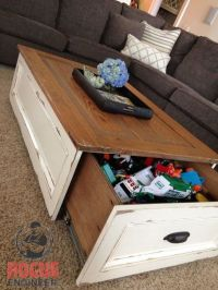 20 Clever Hidden Storage Ideas | Diy Coffee Table, Hidden ...