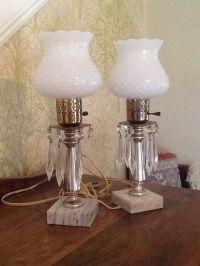 27 best images about Milkglass lamp on Pinterest