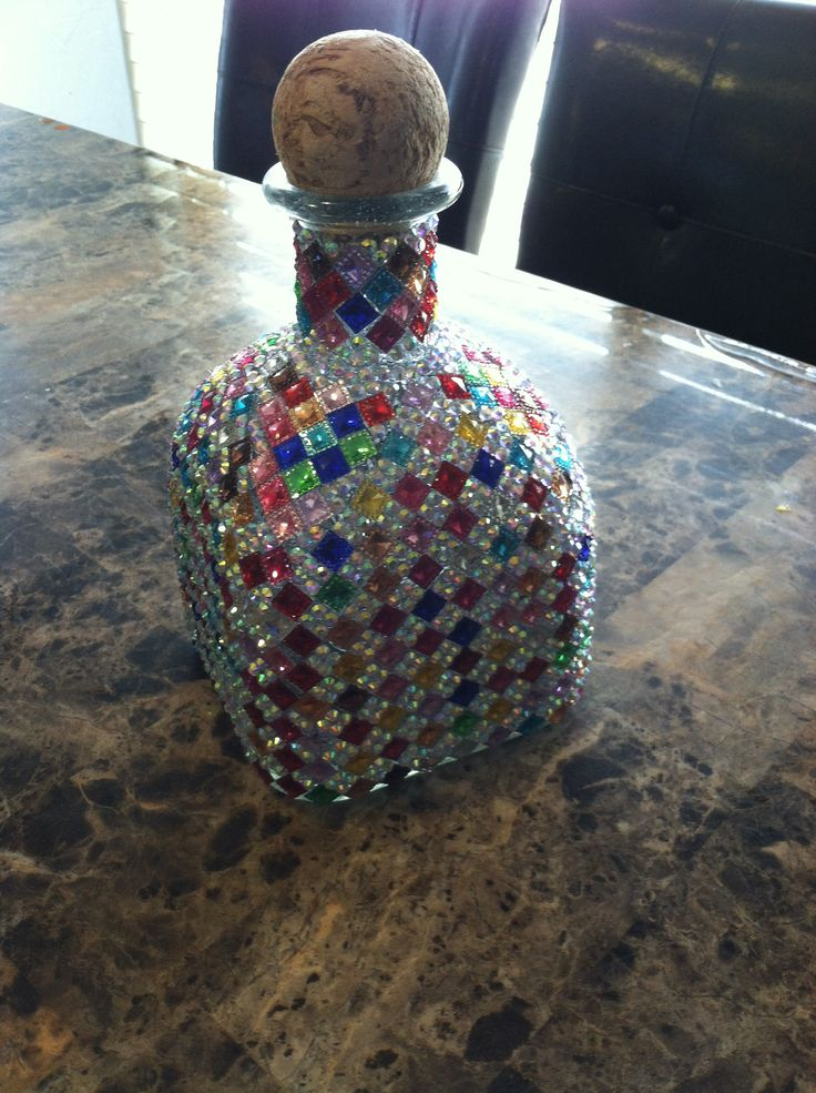 17 Best ideas about Decorated Liquor Bottles on Pinterest  Decorative wine bottles Decorating