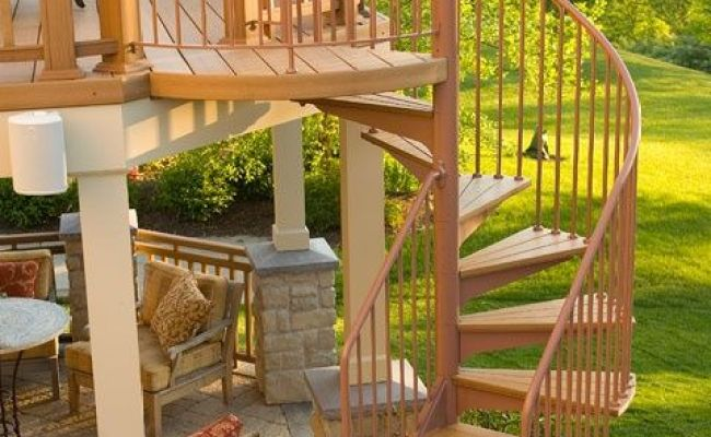 Winding Staircase For Outside Patio Home ςաҽҽե Home