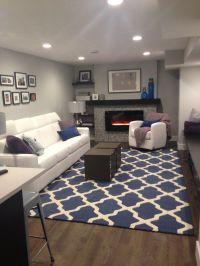 Navy Blue Rug Living Room