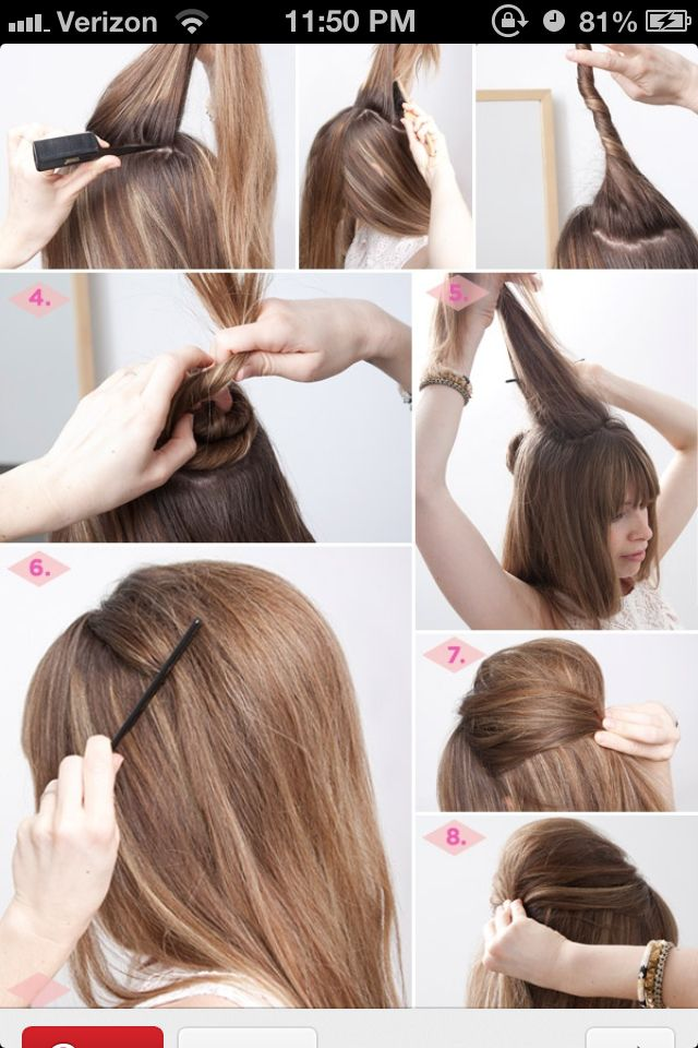 23 Best Images About Hairstyles On Pinterest Hair Bump