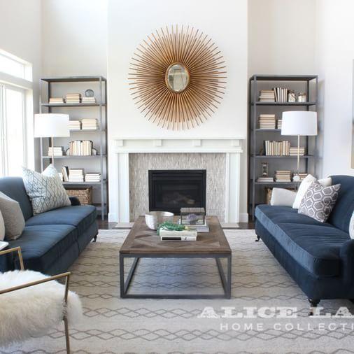 25+ best Navy sofa ideas on Pinterest