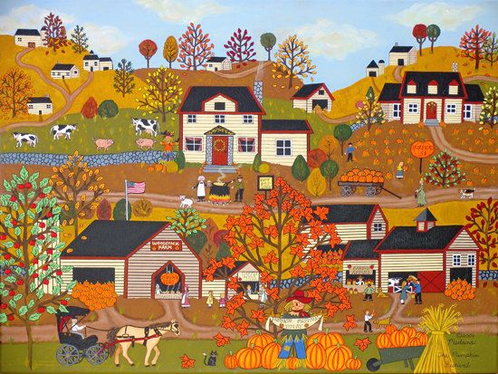 Fall Scenes Wallpaper With Pumpkins 61 Best Images About Americana Art And Decor On Pinterest