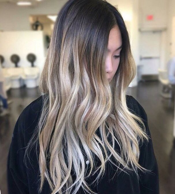 25 Best Ideas About Dark Hair Blonde Highlights On Pinterest
