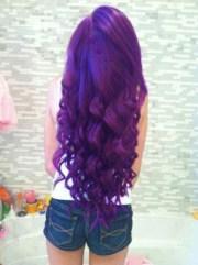 purple hair awful