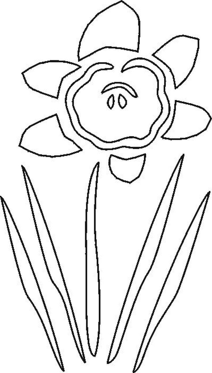 17 Best ideas about Flower Stencils on Pinterest