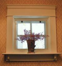Shelf is nice way to extend a window sill. *** ? kitchen ...