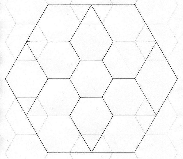 278 best images about Patchwork-Hexagon on Pinterest