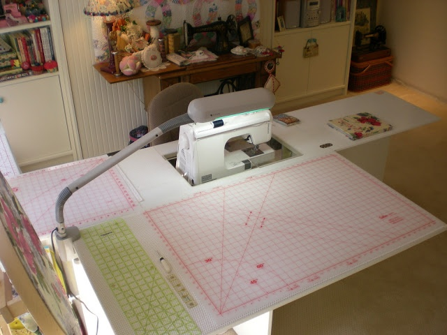 198 best images about Quilt Room Sewing Desk on Pinterest
