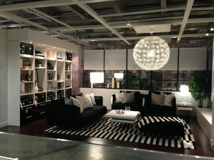 ikea showroom living room bookcases built in 2 | inspiration pinterest ...