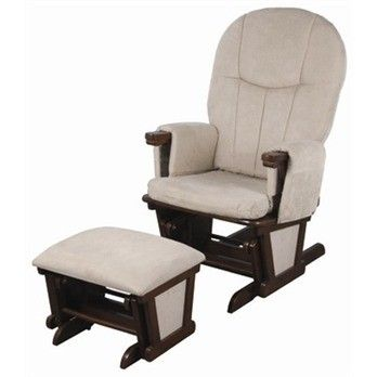 childcare glider rocker chair ottoman asian floor child care #glider #rocker & walnut/caramel having features like supplied with rocking ...