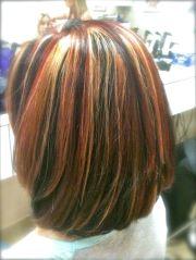 tri color highlights shoulder