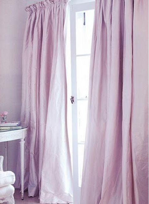 feng shui art for living room wallpaper modern curtains, drapery, lavender, purple, lilac, bedroom ...