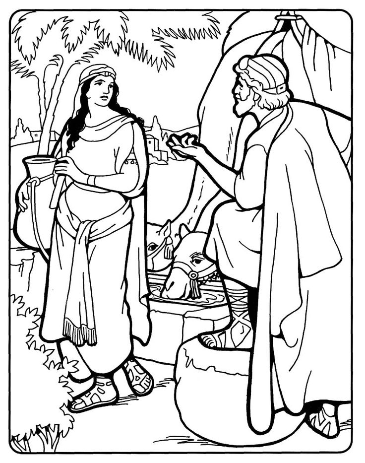 LDS Children's coloring pages: a collection of ideas to