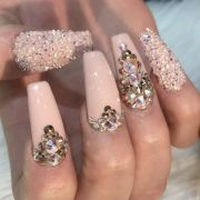 great ideas bling nails