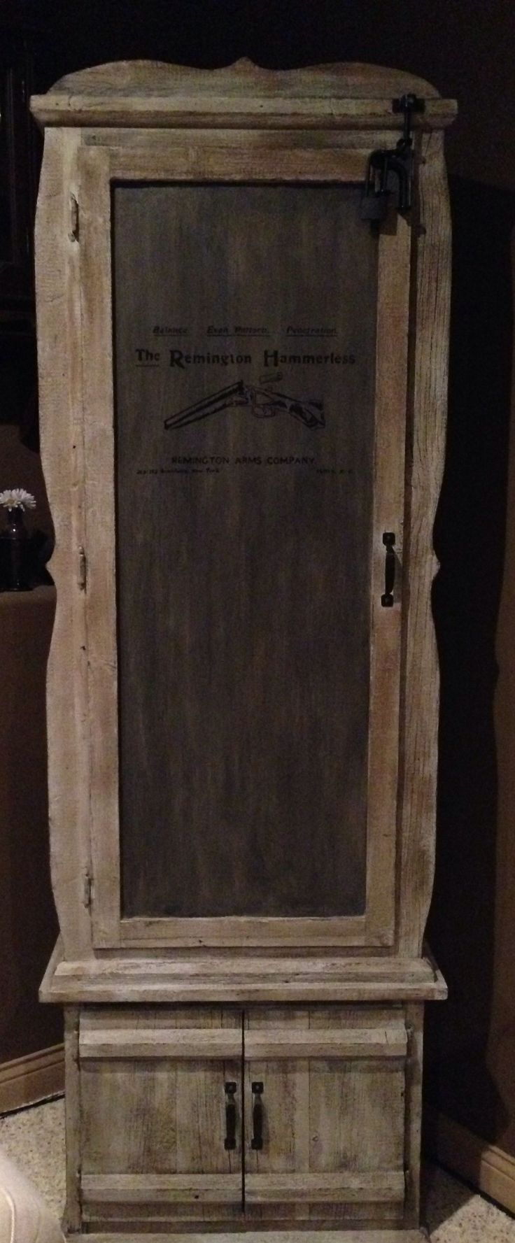 Gun Cabinet Drawings  WoodWorking Projects  Plans