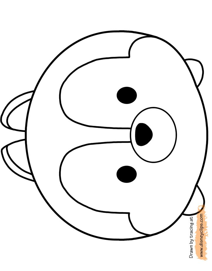 78+ images about Tsum Tsum Coloring Pages on Pinterest