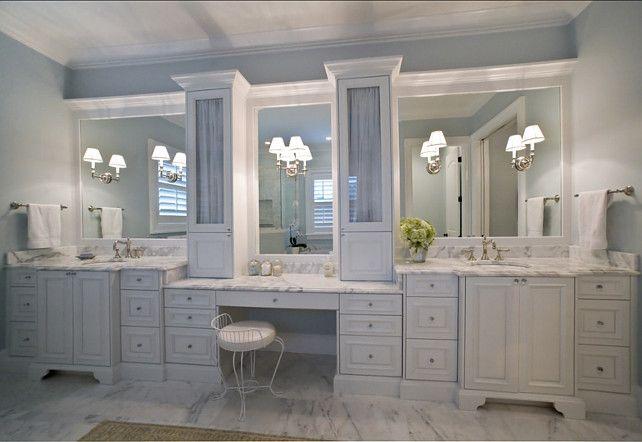 25 best ideas about Bathroom Makeup Vanities on Pinterest  Master bath Master bath vanity and