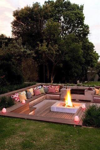 Best 25+ Sunken Fire Pits ideas on Pinterest