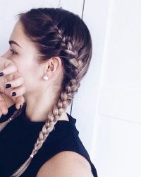 17 Best ideas about Two French Braids on Pinterest ...