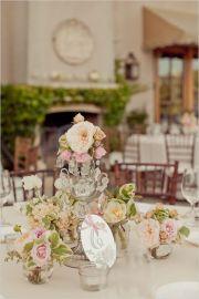 shabby chic wedding ideas table
