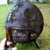 Death Star Fire Pit | Awesome Geek Stuff | Pinterest ...