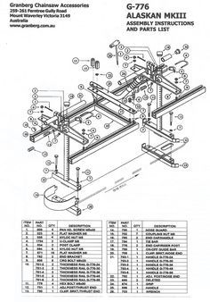 25+ best ideas about Chainsaw mill plans on Pinterest