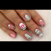 baby shower nails sweet