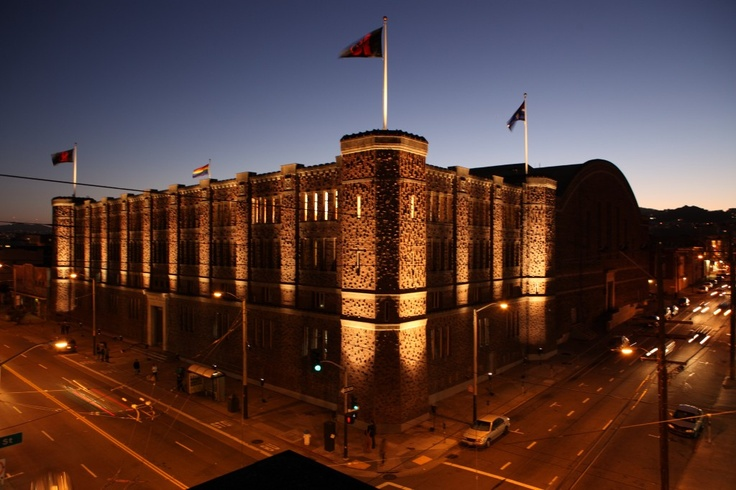The Armory San Francisco See you on the Upper Floor