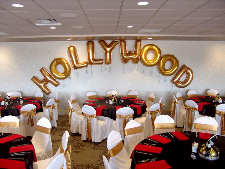 buy chair covers and sashes vintage swing diy hollywood theme: large individual letter balloons attach curly ribbon at ends...white ...
