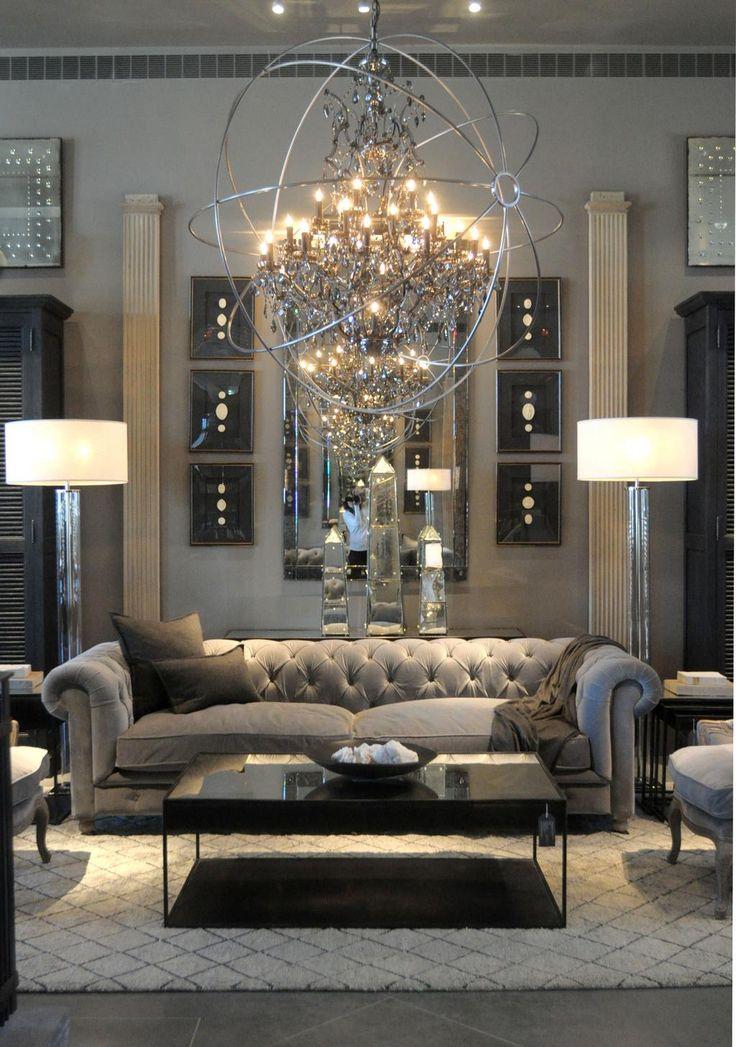 Elegant Living Room Curtains And Valances