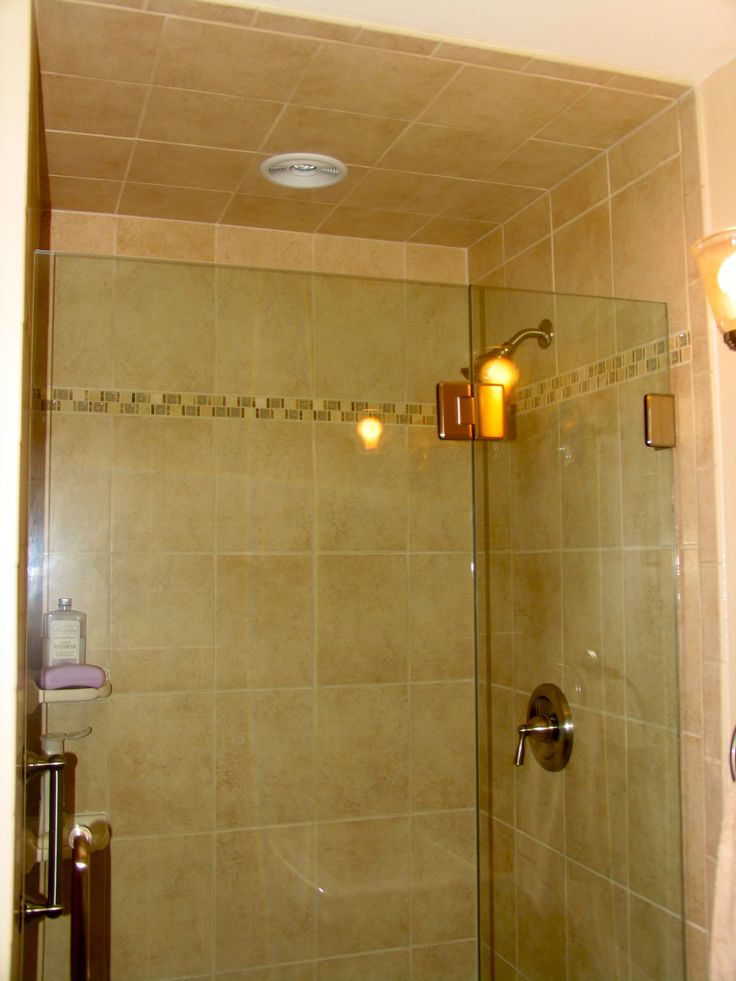 stand up shower tile  Tile Work  Pinterest  Showers Stand up showers and Stand up