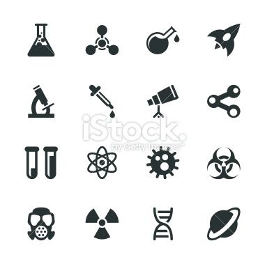 Science, Icons and Party banners on Pinterest