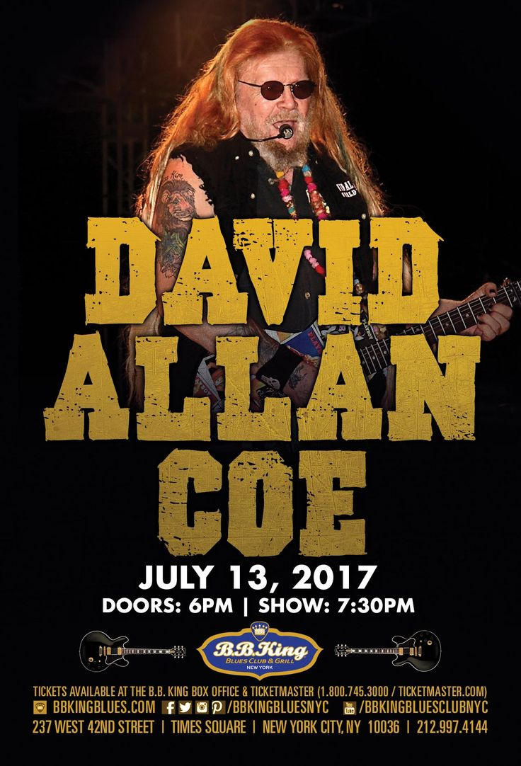 1000 Ideas About David Allan Coe On Pinterest Outlaw
