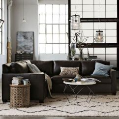 816 Modern Black And White Leather Sectional Sofa Uab Brands Alytus 1000+ Ideas About Brown Decor On Pinterest | Living ...