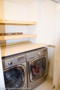 25+ best ideas about Laundry shelves on Pinterest