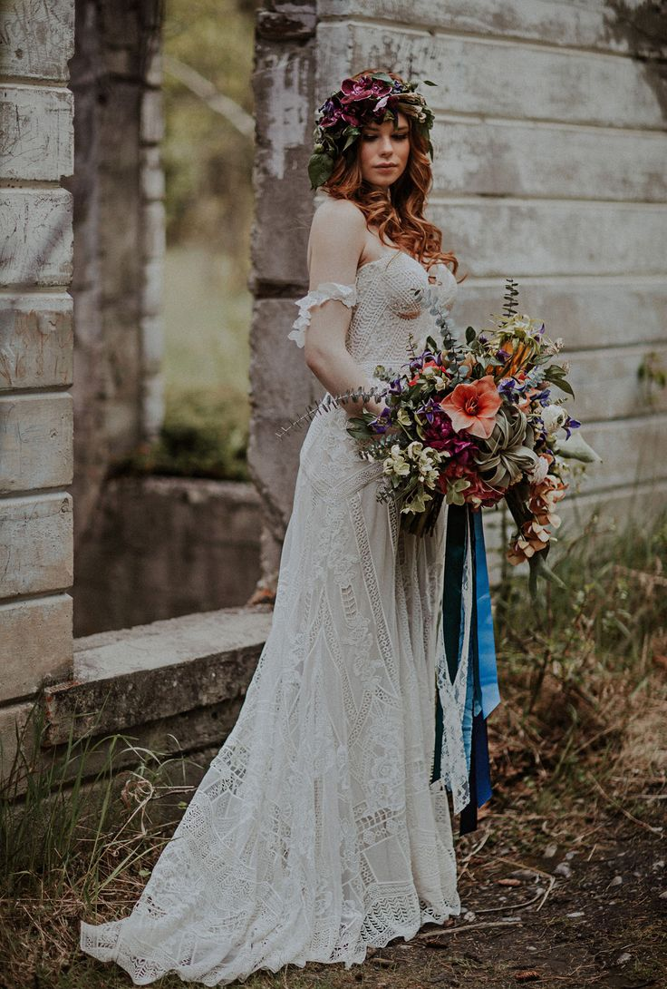 Best 25 Indie Wedding Dress ideas only on Pinterest  Bohemian wedding dresses Leanne marshall