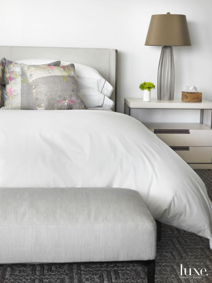 17 Best ideas about Modern White Bedrooms on Pinterest