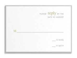 17 Best images about Reply Cards on Pinterest