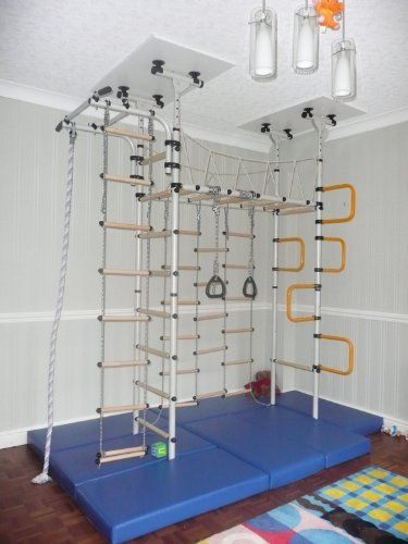 Indoor climbing frame Jungle Gym Home Jungle httpwwwamazoncoukdpB0073SWHUIrefcm_sw_r