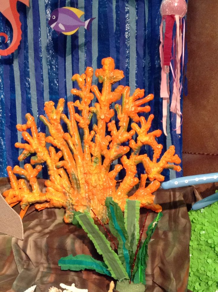 Spray foam coral  Vacation Bible School  Themes To Do  Pinterest  Sprays and Coral