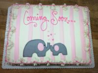Baby Shower Sheet Cake Designs Pictures to Pin on ...
