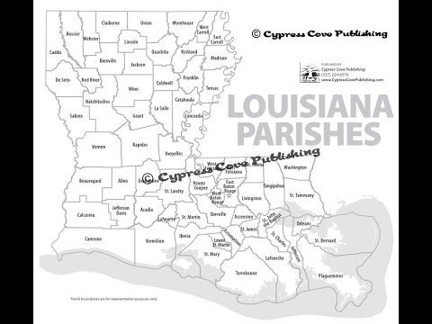17 Best ideas about Map Of Louisiana Parishes on Pinterest