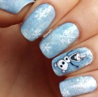 1000+ ideas about Olaf Nails on Pinterest | Frozen nails ...