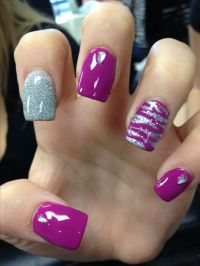 zebra nail design instagram: nailsbyhenryl | Nail designs ...