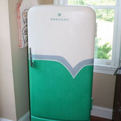 Diy Painted Windsor Chairs Ergonomic Chair Keyboard Position 1950's Retro Fridge Makeover | Brush Strokes, And Fans
