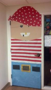 pirate classroom door! for month of june! | Classroom door ...