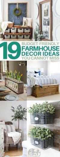 25+ best ideas about Modern farmhouse decor on Pinterest